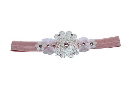 Flower LacBand - Chic Crystals