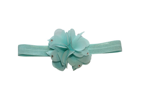 Chiffon Headband - Chic Crystals