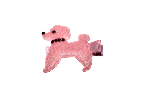 Toddler Dog Hair Clip - Chic Crystals