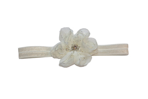 Flower Crystals Headband - Chic Crystals