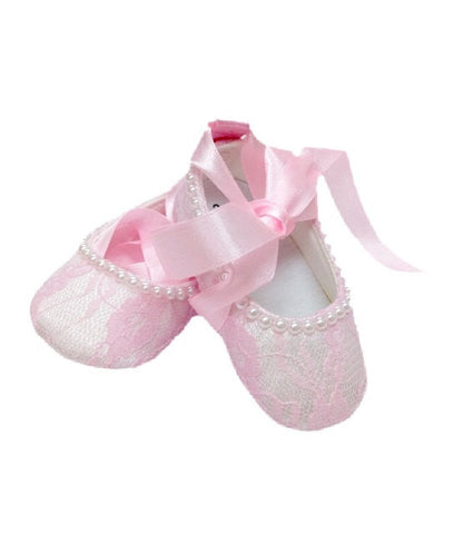 Baby Crib Shoes - Chic Crystals