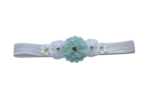 Amelia Soft Headband - Chic Crystals