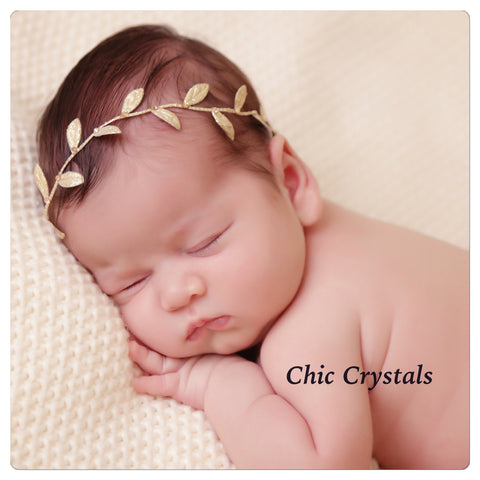 Metallic Gold Leaf wrap - Chic Crystals
