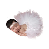 White Tutu Set - Chic Crystals