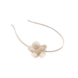Pearl Flower Headband - Chic Crystals