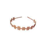 Copy of Flower Hard Headband - Chic Crystals