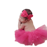 Fancy Bow Tutu Band Set - Chic Crystals