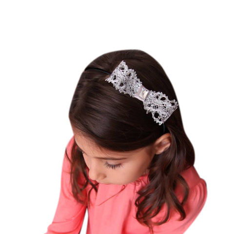 Beautiful Bow Headband - Chic Crystals