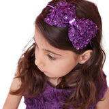 Bow Hard Headband - Chic Crystals
