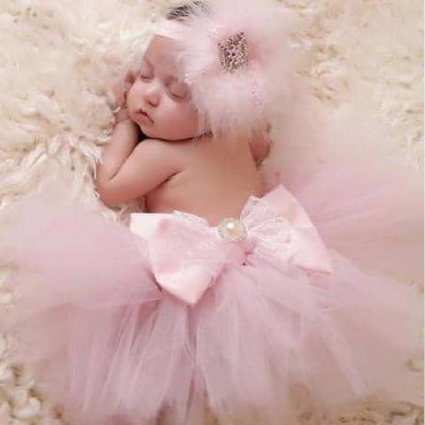 Pink Tutu Set - Chic Crystals