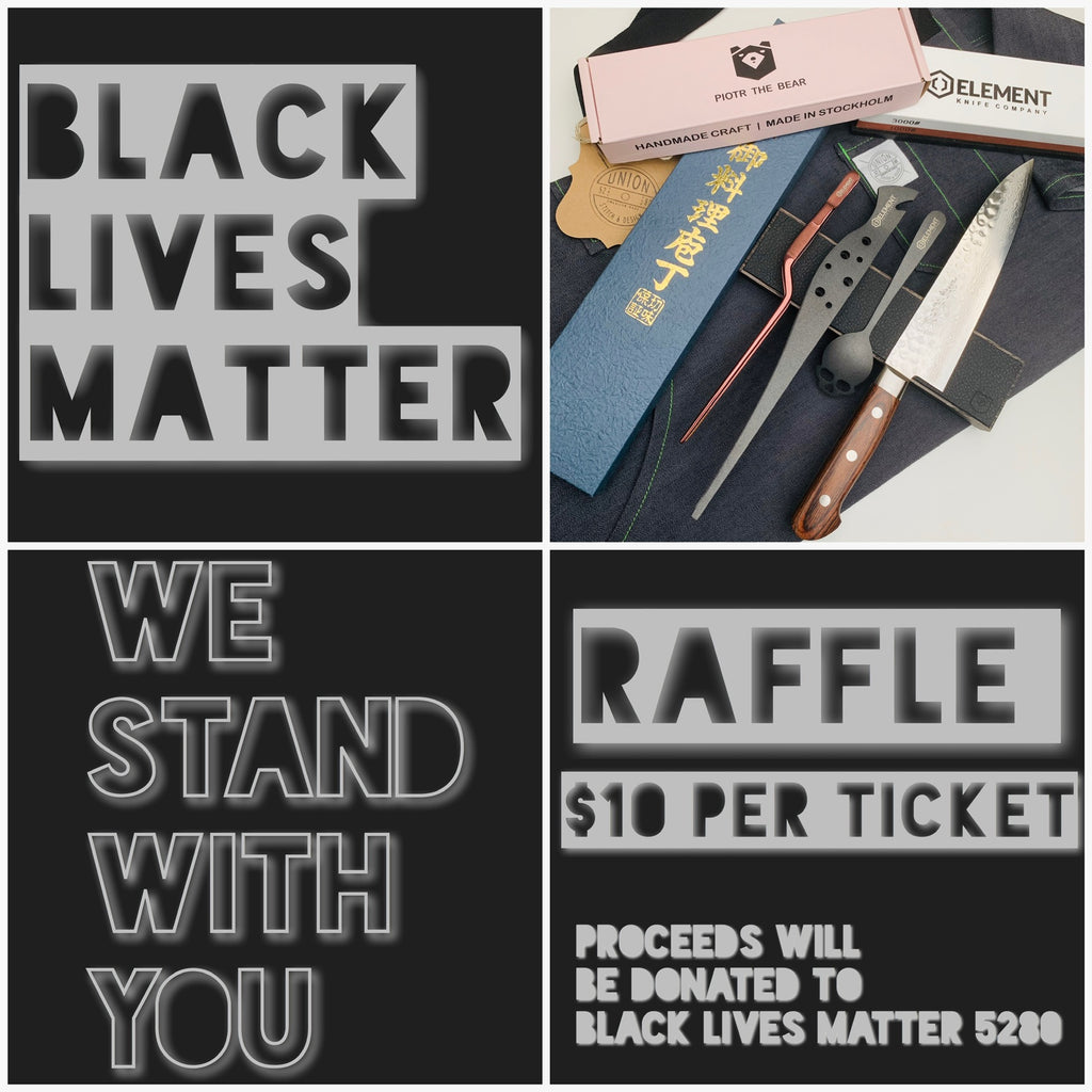 Black Lives Matter, Raffle to raise funds.