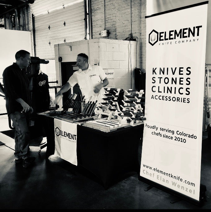 Meet The owner of Element Knife Company