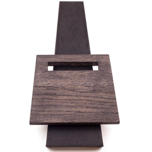 Piotr The Bear Oak & Leather Magnetic Knife Stand