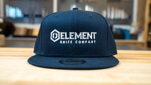 Element Knife Company flat brim hat