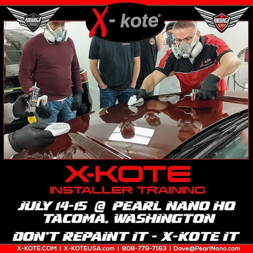 X-Kote Training in Washington! July 14th & 15th