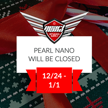 Pearl Nano will be CLOSED for the Holidays!