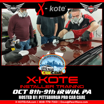 X-Kote Training in Pennsylvania, October 8th & 9th!
