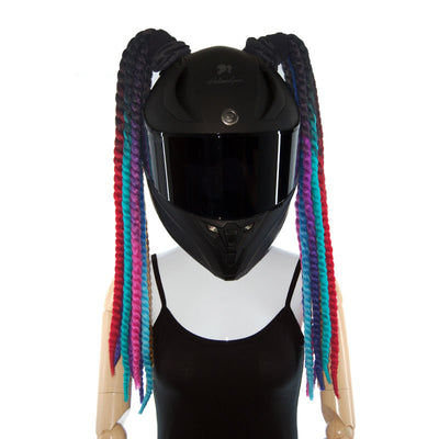 Helmet Pigtails Twist Braids