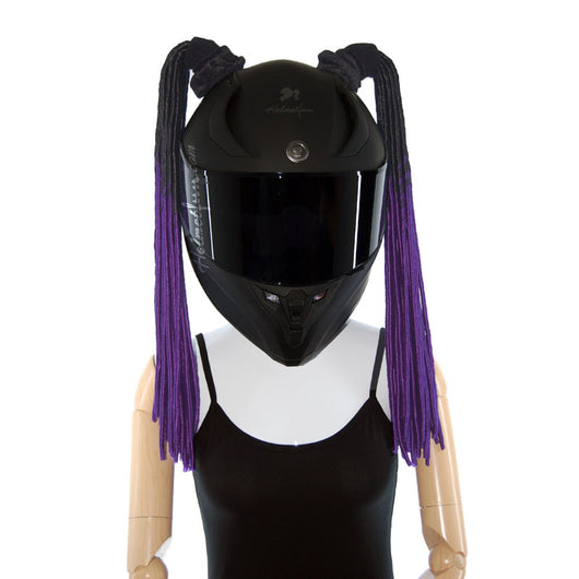 Helmet Pigtails Soft Dreadlocks