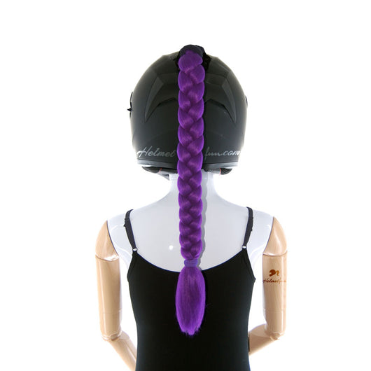 Ponytails For Helmets