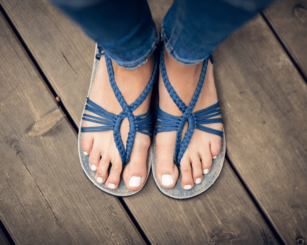 Handwoven Sandals For Women-4782