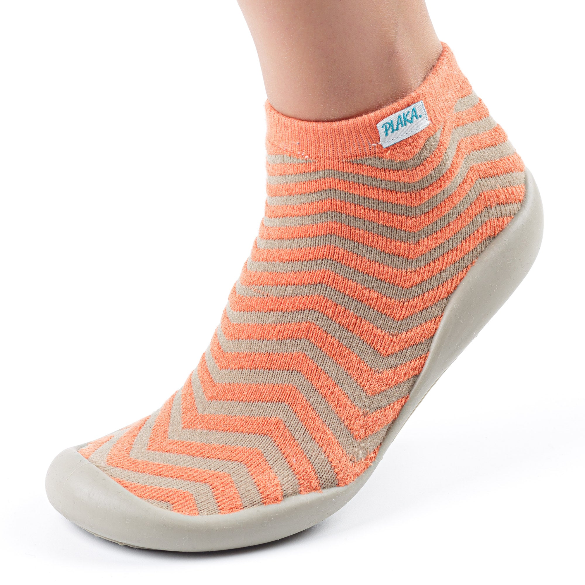 Slipper Socks for Women | Peach Brown