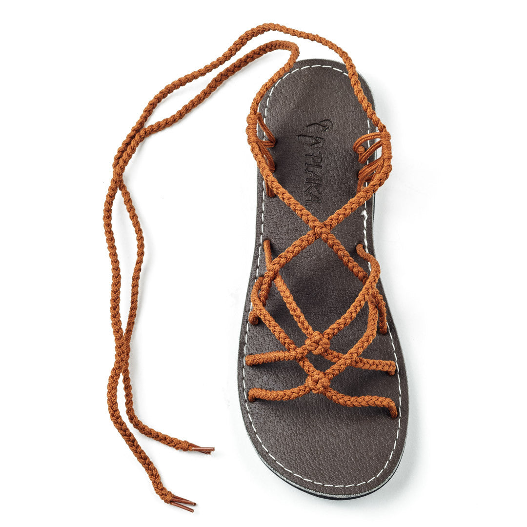 Sahara Gladiator Sandals Women | Orange