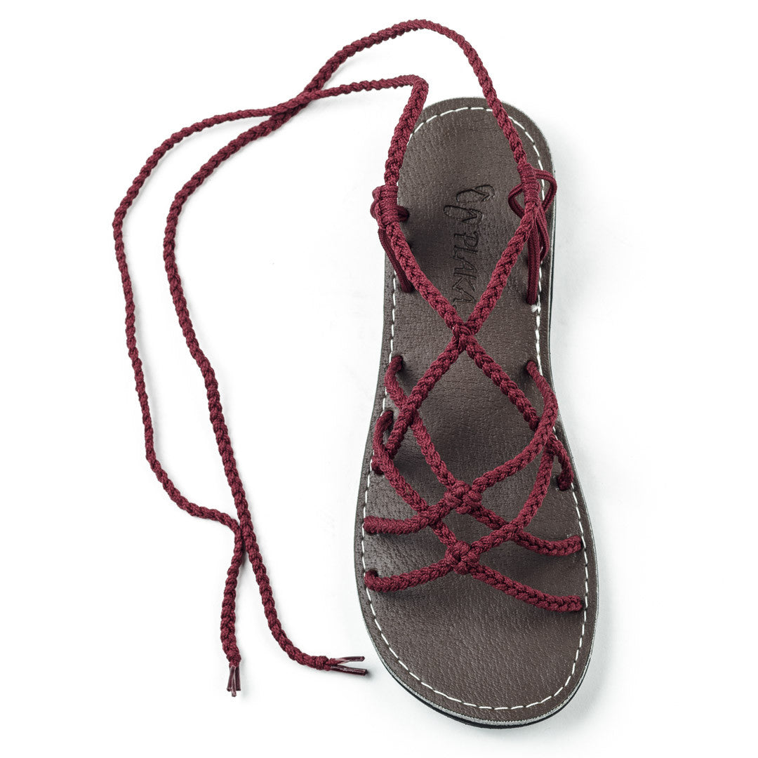 Sahara Gladiator Sandals Women | Sunset Sangria
