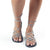 Sahara Gladiator Sandals Women | Urban Gray