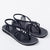 Seashell Summer Sandals for Women | Classic Black