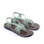 Seashell Summer Sandals for Women | Sage Green