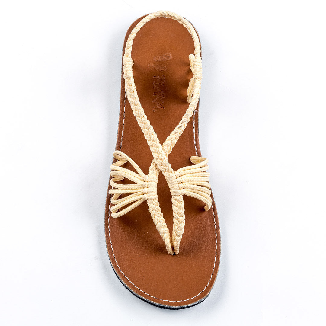 Seashell Summer Sandals for Women | Sweet-Ivory