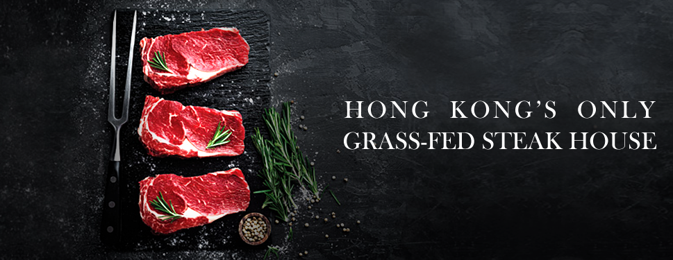 Grass-Fed beef, EasyChef, Mineral Water, Steak House, HongKong