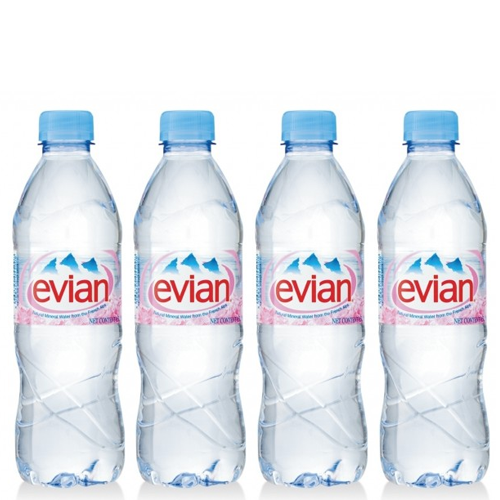 evian® Natural Mineral Water is pure and natural. Evian contains a unique balance of minerals, essential for your every day active life. Free Delivery by Easych...