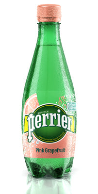 Perrier (Grapefruit Sparkling Mineral Water 500ml x 24 Pets)