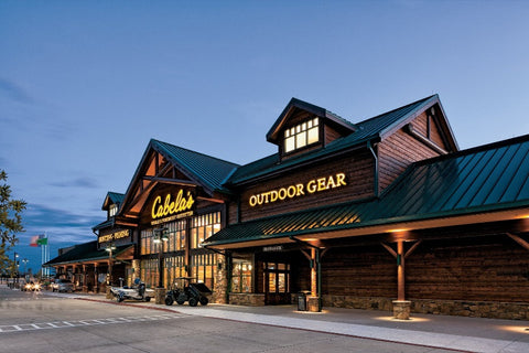 Diganet provides the security systems, surveillance cameras, and access control for Cabelas Outdoor Gear