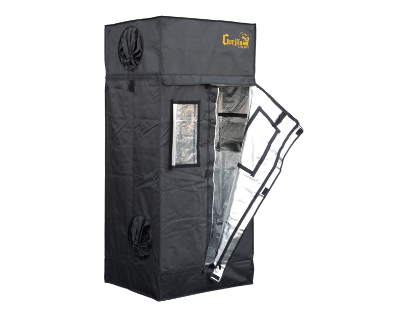 The  2' x 2.5' Gorilla Grow Tent LITE LINE has been engineered for growers who want the quality of a Gorilla Grow Tent but are on a budget.