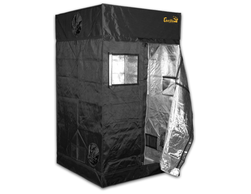 One of the best indoor grow tents for indoor gardening either in soil or as part of a hydroponic grow tent system is the Gorilla Grow Tent 4x4.