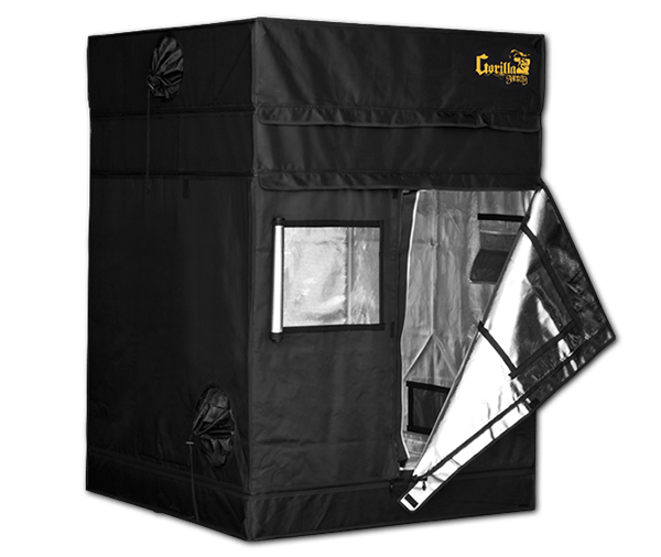 Gorilla Grow Tent SHORTY LINE 4x4  sc 1 st  Diganet : 4x4 grow tent kit - memphite.com