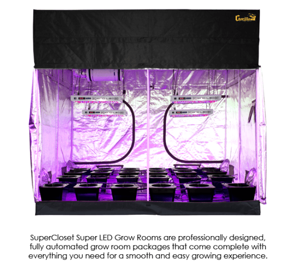 Hydroponic Grow Tent Package 9x9 SuperCloset SuperRoom  sc 1 st  Diganet & Buy Hydroponic Grow Tent Package 9x9 SuperCloset SuperRoom at ...