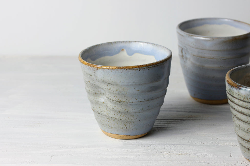 Handmade wine cups set