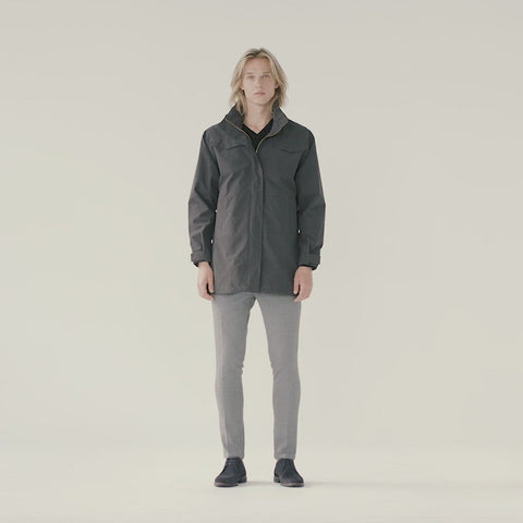 Nordavind Mens Jacket - Charcoal
