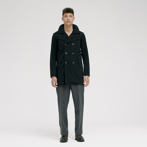 Hagl Coat - New Black