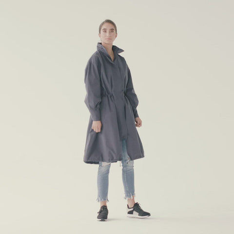 Føn Coat - Indigo Mood