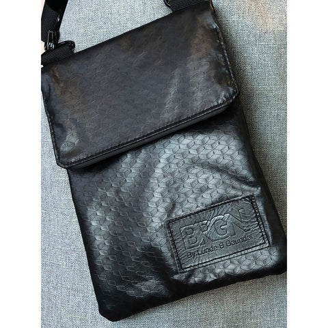 BRGN messenger purse - New Black