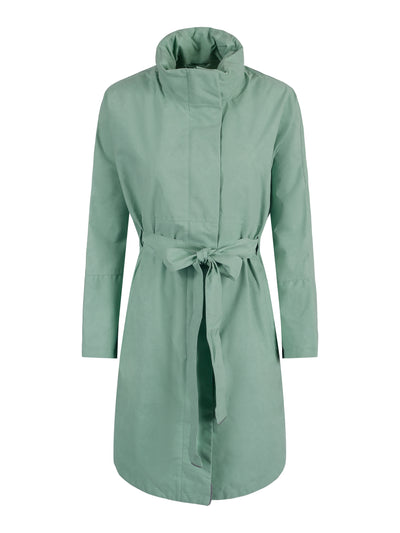 BRGN by Lunde & Gaundal Bris Poncho Coats 815 Minty Breeze