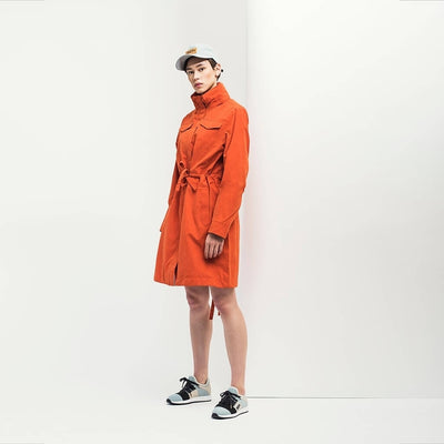 BRGN by Lunde & Gaundal Dugg Parkas Coat Coats 380 Pumkin