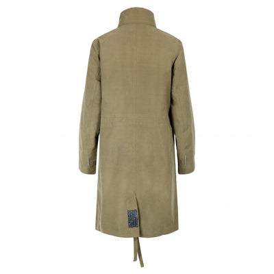 BRGN by Lunde & Gaundal Dugg Parkas Coat Coats 850 Green Herb