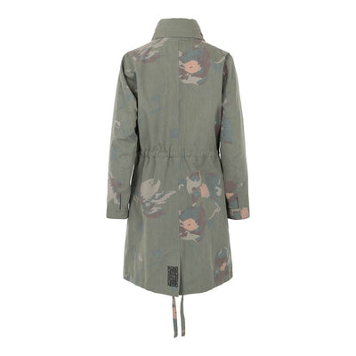 BRGN by Lunde & Gaundal Dugg Parkas Coat Coats 985 Camo Floral