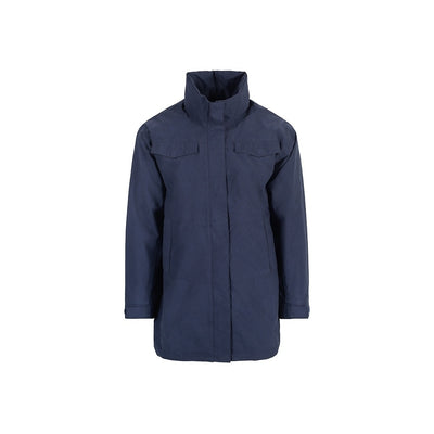 BRGN by Lunde & Gaundal Nordavind Mens Jacket Coats 785 Indigo Mood